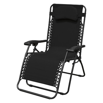Oversized Infinity Zero Gravity Chair - Black - Caravan