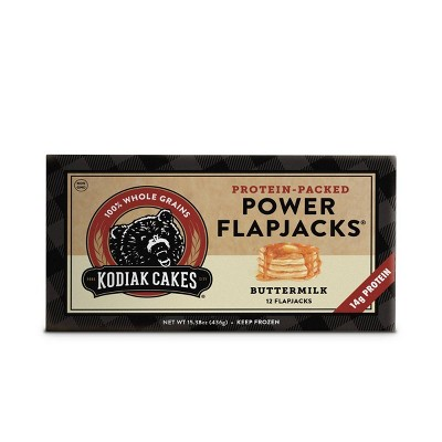 Kodiak Cakes Power Flapjacks Buttermilk Frozen Pancakes - 15.38oz/12ct