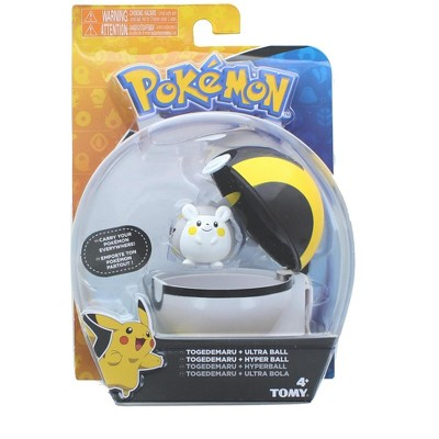 Tomy Pokemon Clip and Carry Poke Ball | 2 Inch Togedemaru and Ultra Ball