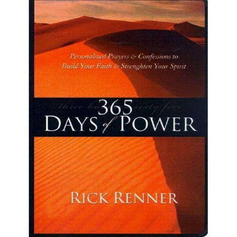 365 Days of Power - by  Rick Renner (Paperback) - image 1 of 1