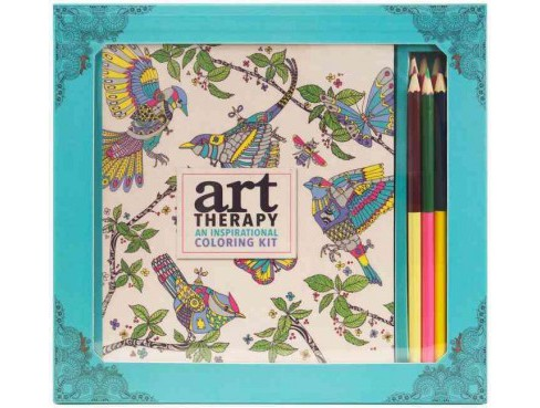 Art Therapy : An Inspirational Coloring Kit (Deluxe) (Paperback) - image 1 of 1