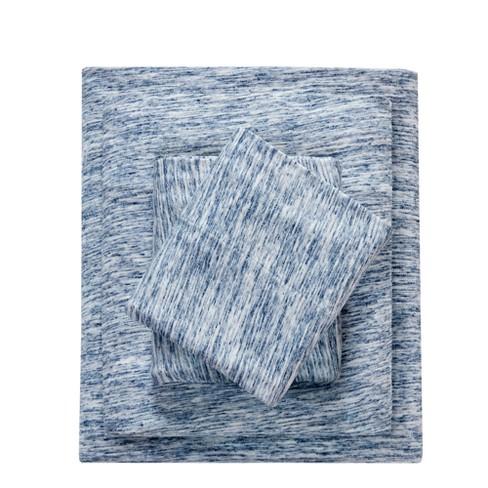 Spacedye Cotton Jersey Knit Sheet Set - image 1 of 4