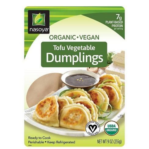 Nasoya Organic Tofu Vegetable Dumplings - 9oz - image 1 of 2