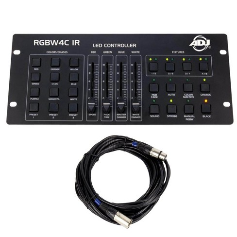 American DJ 32 Channel DMX Lighting Controller and Chauvet DJ 25 Foot DMX Cable - image 1 of 4