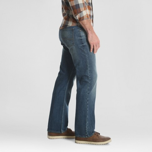 93871eab Wrangler Men's Relaxed Fit Bootcut Jeans - Dusty Blue 33x32 : Target