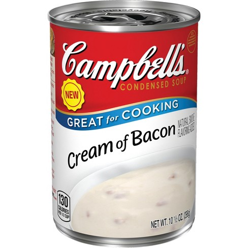 Campbell's Cream of Bacon Condensed Soup - 10.5oz - image 1 of 5