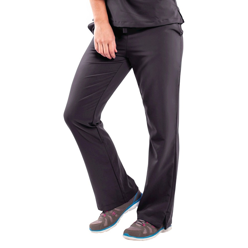 Female Scrub Pants Ave XL Black