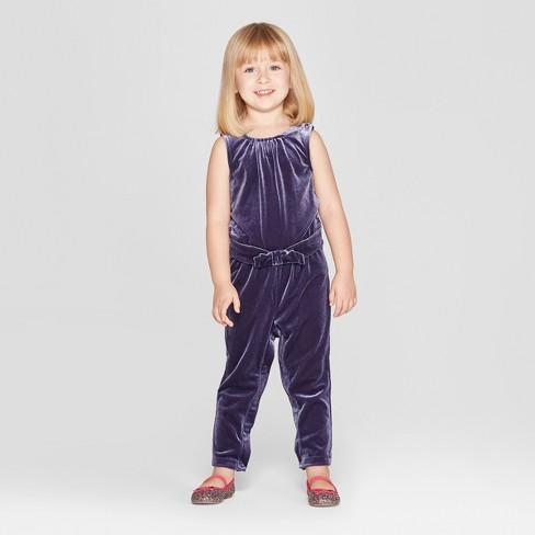 Target Toddler Girls' Bodysuit – Genuine Kids® from OshKosh Purple $19.99