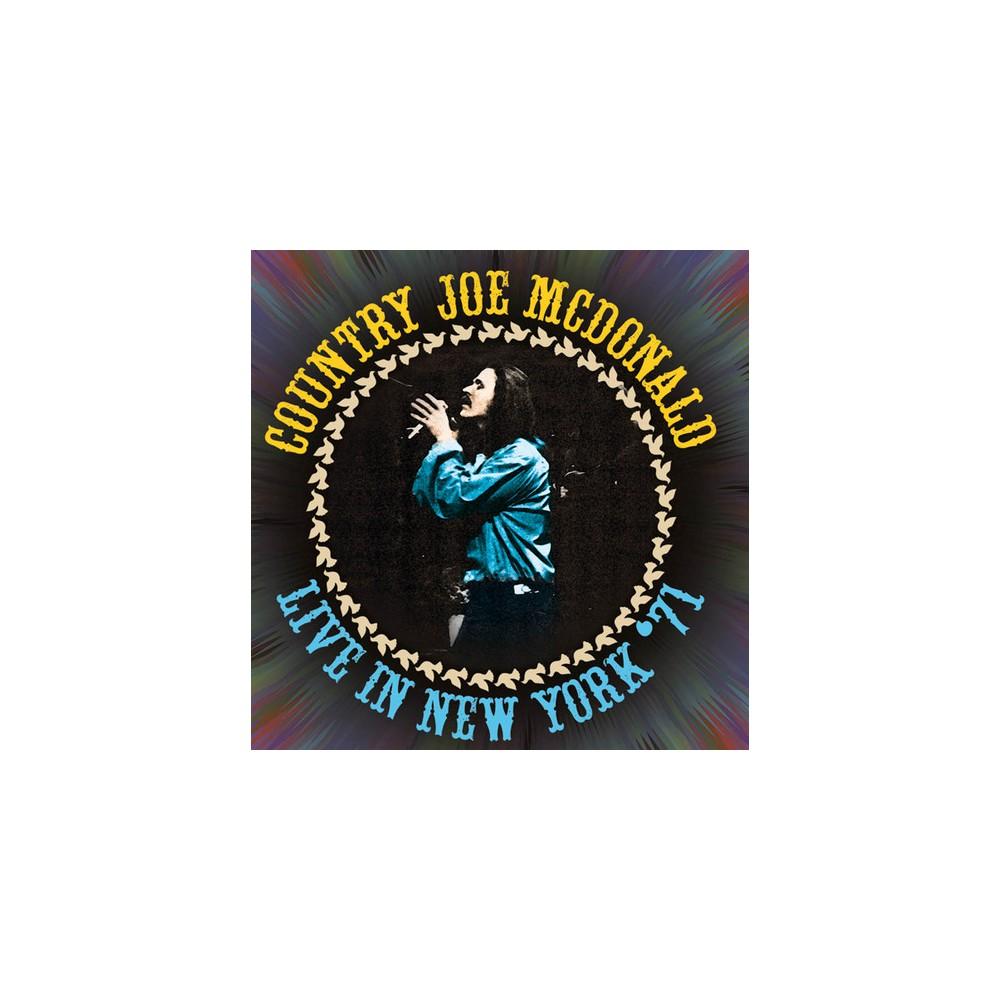 Country Jo Mcdonald - Live In New York 71 (CD)