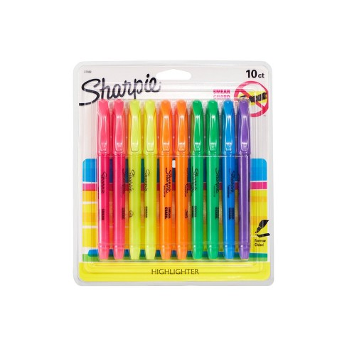 Sharpie Accent 10pk Highlighter Multicolor - image 1 of 4