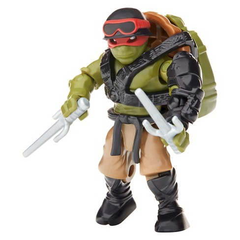 Mega Bloks Teenage Mutant Ninja Turtles Movie Paratrooper Raph Figure - image 1 of 5