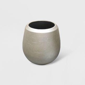 12u0022 Champagne Ceramic Planter Gold - Opalhouse™