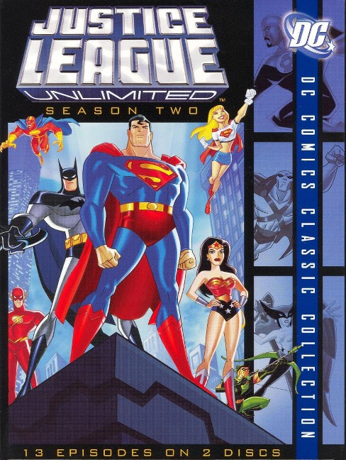 Justice League Unlimited: Season Two [2 Discs] - image 1 of 1