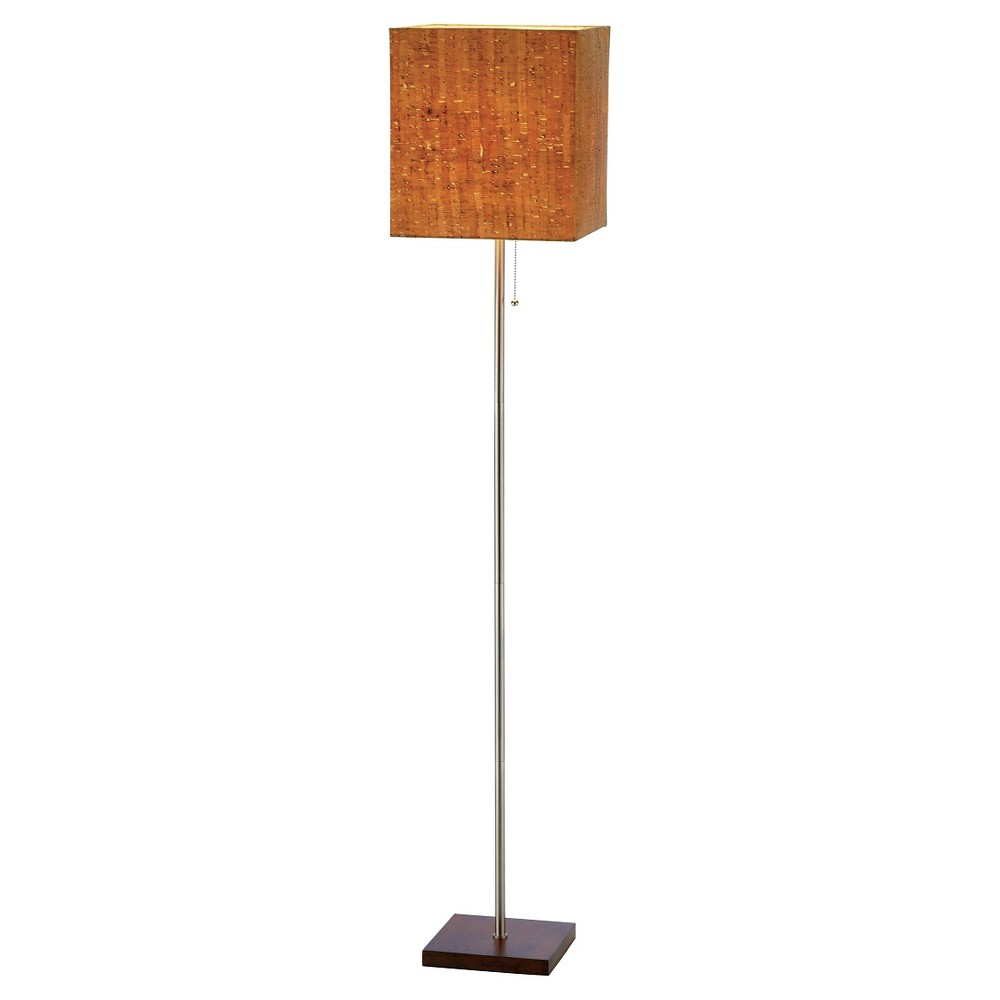 Image of Adesso Sedona Floor Lamp - Silver