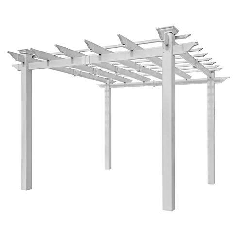 "94.75"" Mirage Pergola - New England Arbors - image 1 of 2"