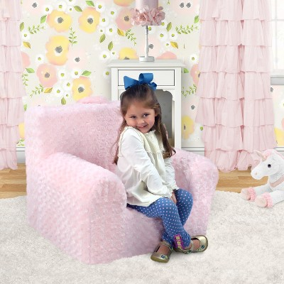 Grab N Go Kids' Foam Chair With Handle   Rose Cuddle Pink   Kangaroo Trading Co. by N