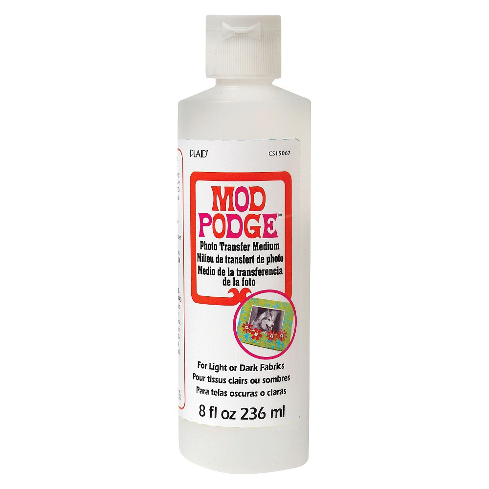 Mod Podge Craft Glue 8oz - Photo Transfer Medium