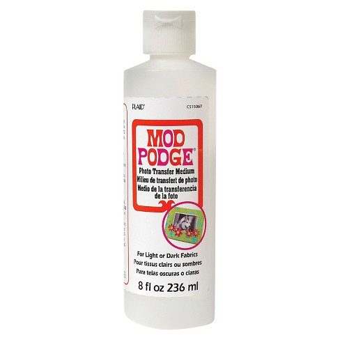 Mod Podge® Craft Glue 8oz - Photo Transfer Medium - image 1 of 1