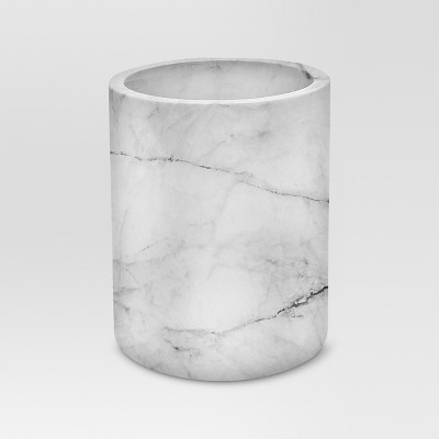 Large Marble Utensil Holder - Threshold™