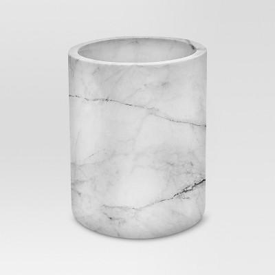 Large Marble Utensil Holder - Threshold™