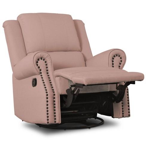 Delta Children Dylan Nursery Recliner Glider Swivel Chair - image 1 of 4