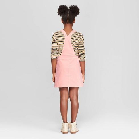 b03a4b4bc Girls' Corduroy Pinafore - Art Class™ Pink : Target