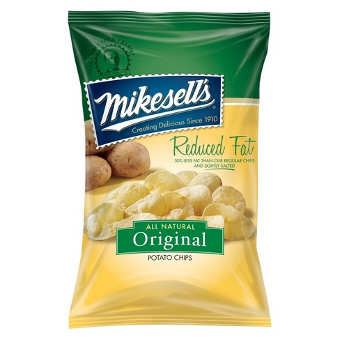 Mikesell's Reduced Fat Original Potato Chips - 10oz - image 1 of 1