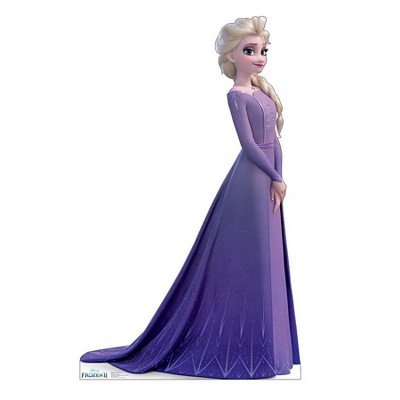 Birthday Express Frozen Party Frozen 2 Life Size Elsa Collector's Edition Standup