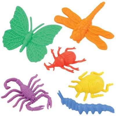 Kaplan Early Learning Colorful Assorted Bug Counters With 12 Different Insects