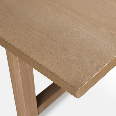 Grant Wood Dining Table Rustic Beige - Finch : Target