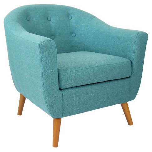 Prime Lumisource Rockwell Accent Chair Teal Lamtechconsult Wood Chair Design Ideas Lamtechconsultcom