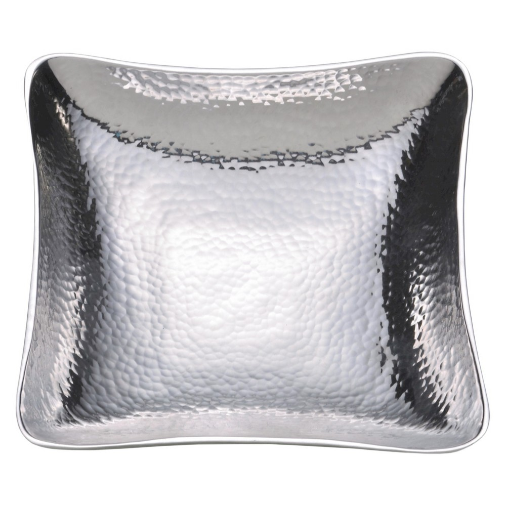 Image of Towle Hammersmith 8.25in Aluminum Square Bowl