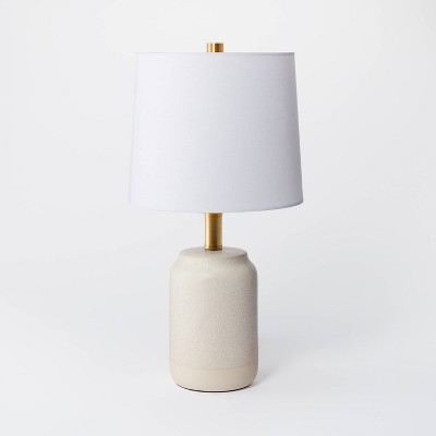 Small Assembled Table Lamp Cream - Threshold™ designed with Studio McGee