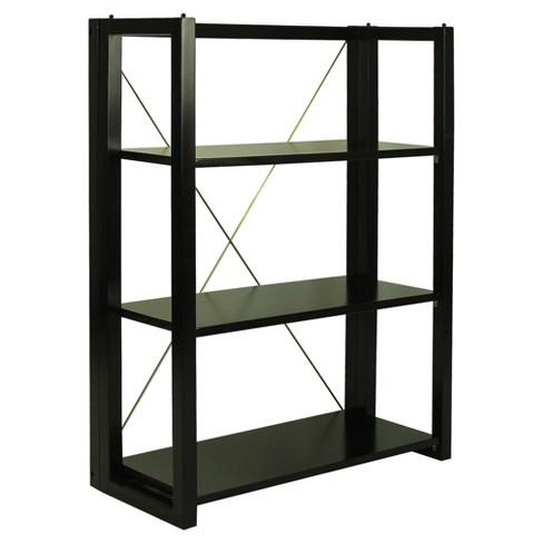 38 Shelf Folding Stacking Bookcase