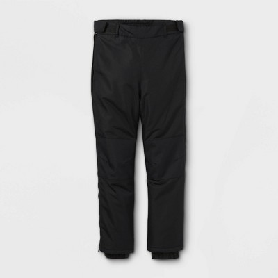Kids' Adaptive Snow Pants - Cat & Jack™ Black