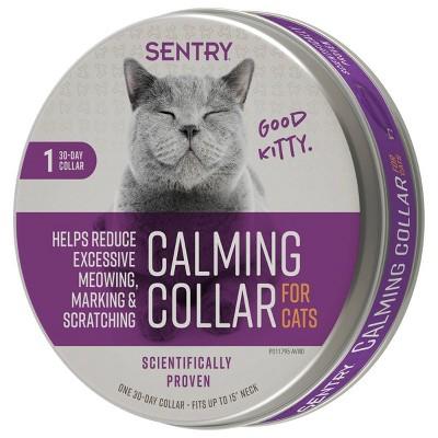 Sentry Calming Collar For Cat - 1ct