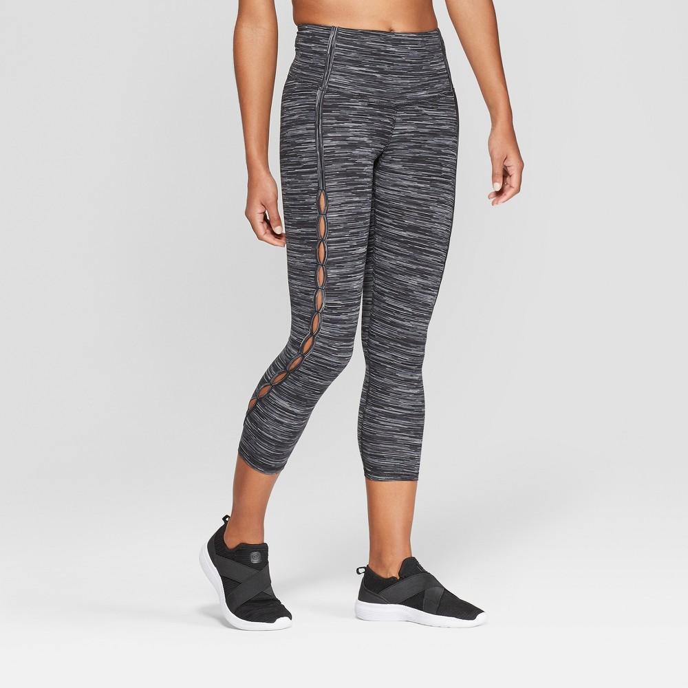 Women's Everyday High-Waisted Leggings - C9 Champion Black Spacedye XL, Black Space Dye