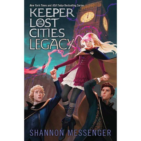 Legacy, Volume 8 - (Keeper of the Lost Cities) by Shannon Messenger (Hardcover) - image 1 of 1
