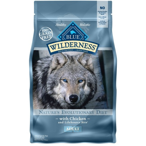 Blue Buffalo Wilderness 100% Grain-Free Chicken Adult Dry Dog Food - image 1 of 4