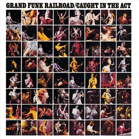 Grand funk railroad - Caught in the act (CD) - image 1 of 1