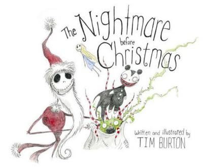 Nightmare Before Christmas (Hardcover)(Tim Burton)