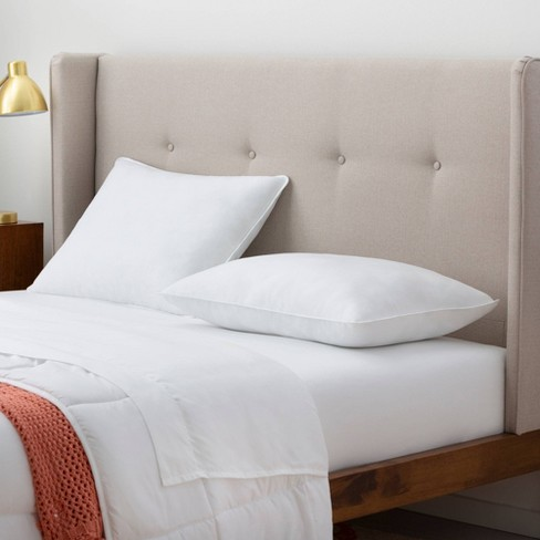 Essentials Medium Bed Pillow - Linenspa - image 1 of 4