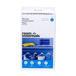 Compression Bags 3 Medium Clear - Room Essentials™