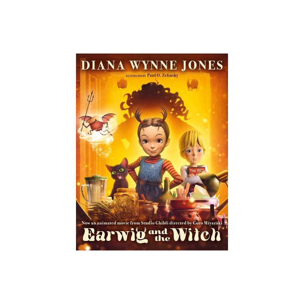 Earwig And The Witch Movie Tie In Edition By Diana Wynne Jones Paperback