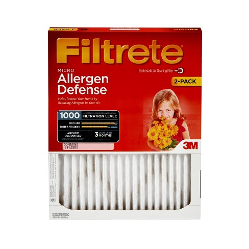 Filtrete Micro Allergen, 2pk 14X30, Air Filter - image 1 of 3