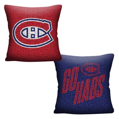NHL Montreal Canadiens Inverted Woven Pillow