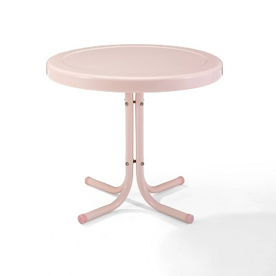 Griffith Outdoor Side Table - Pastel Pink - Crosley