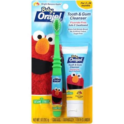 Baby Orajel Tooth/Gum Cleanser - Apple Banana (1oz)