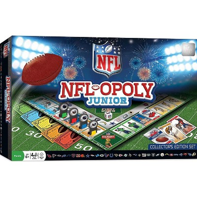 MasterPieces Inc NFL-opoly Junior Board Game | Collector's Edition Set