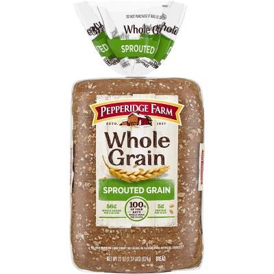 Pepperidge Farm whole Grain Soft Sprouted Grain Bread - 22oz